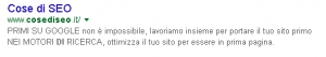 primo su google meta description